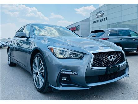 2020 Infiniti Q50 Signature Edition (Stk: H9198R) in Thornhill - Image 1 of 22