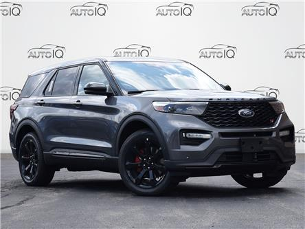 2021 Ford Explorer ST (Stk: XC872) in Waterloo - Image 1 of 27