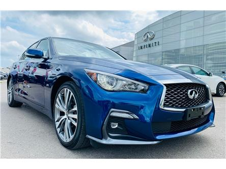 2020 Infiniti Q50 Signature Edition (Stk: H9104R) in Thornhill - Image 1 of 24