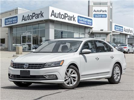 2018 Volkswagen Passat 2.0 TSI Comfortline (Stk: APR10250) in Mississauga - Image 1 of 20