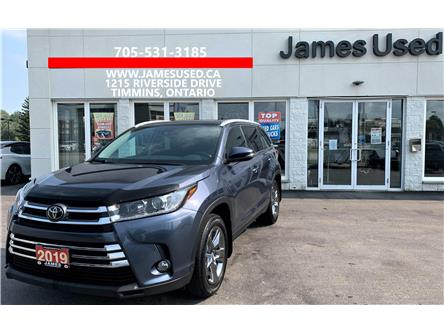 2019 Toyota Highlander XLE (Stk: P02995) in Timmins - Image 1 of 16