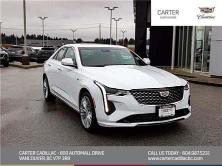 2021 Cadillac CT4 Premium Luxury (Stk: 1D85130) in North Vancouver - Image 1 of 23