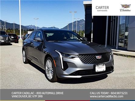 2020 Cadillac CT4 Premium Luxury (Stk: D93290) in North Vancouver - Image 1 of 23