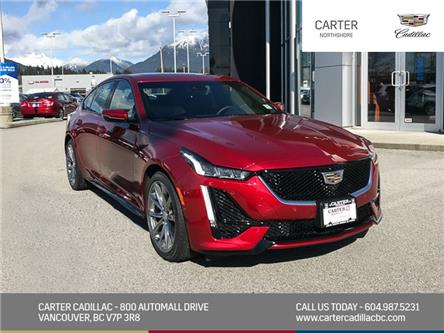 2020 Cadillac CT5 Sport (Stk: D33080) in North Vancouver - Image 1 of 23