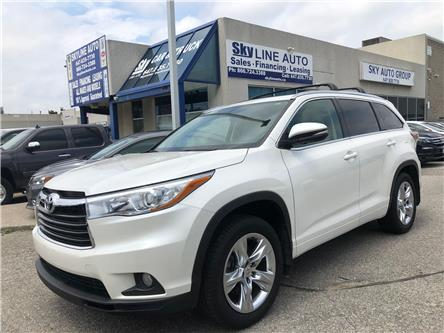 2015 Toyota Highlander Limited (Stk: ) in Concord - Image 1 of 20