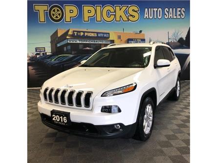 2016 Jeep Cherokee North (Stk: 173696) in NORTH BAY - Image 1 of 28