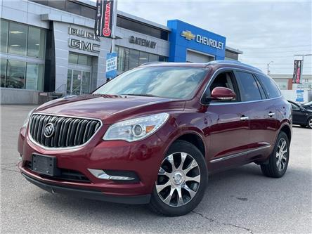 2017 Buick Enclave Leather / LEATHER / SUNROOF / NAVI / LOADED / (Stk: PW19986A) in BRAMPTON - Image 1 of 16