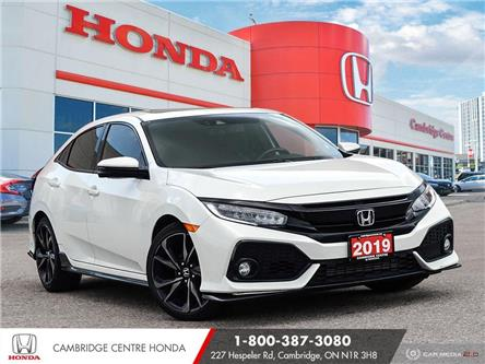 2019 Honda Civic Sport Touring (Stk: 21952A) in Cambridge - Image 1 of 27
