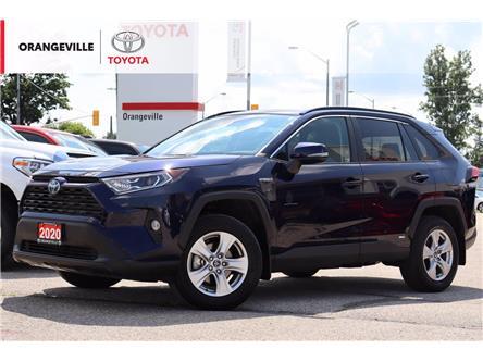2020 Toyota RAV4 Hybrid XLE (Stk: HU5234) in Orangeville - Image 1 of 19