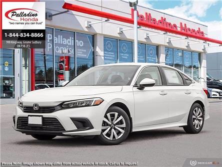 2022 Honda Civic LX (Stk: 23437) in Greater Sudbury - Image 1 of 23