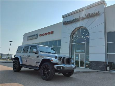 2021 Jeep Wrangler 4xe (PHEV) Sahara (Stk: AM092) in Olds - Image 1 of 28