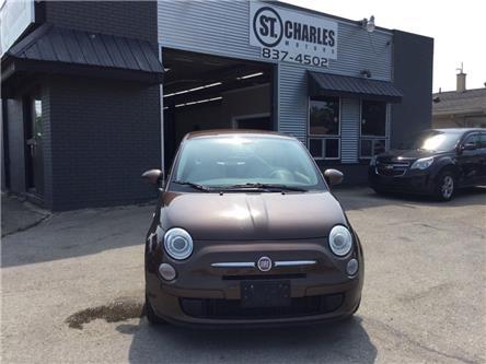 2012 Fiat 500 Pop (Stk: ) in Winnipeg - Image 1 of 17