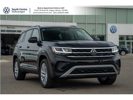 2021 Volkswagen Atlas 3.6 FSI Highline (Stk: 10338) in Calgary - Image 1 of 44