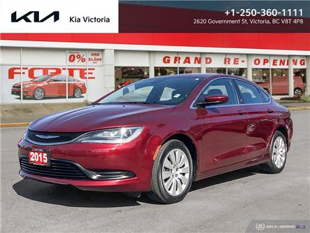 2015 Chrysler 200 LX (Stk: A1851) in Victoria - Image 1 of 24