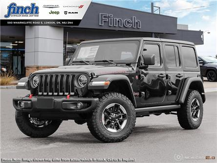 2021 Jeep Wrangler Unlimited Rubicon (Stk: 101621) in London - Image 1 of 24