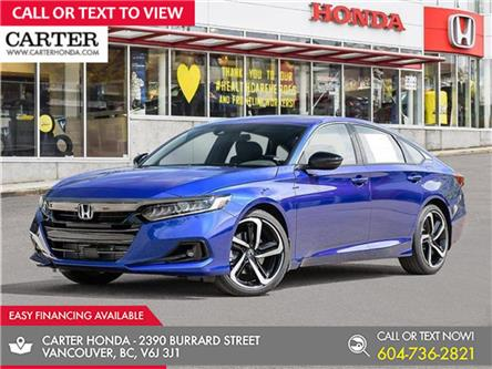 2021 Honda Accord Sport 1.5T (Stk: 6M23790) in Vancouver - Image 1 of 24