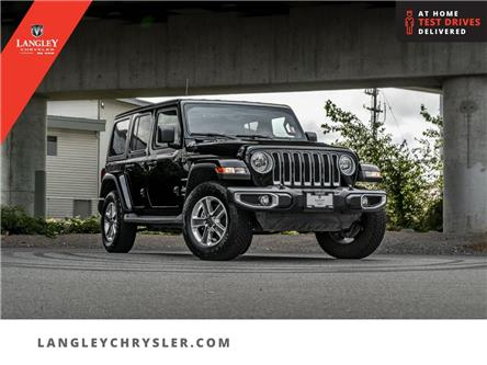 2021 Jeep Wrangler Unlimited Sahara (Stk: LC0888) in Surrey - Image 1 of 25