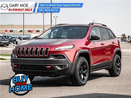 2016 Jeep Cherokee Trailhawk (Stk: 21-3946A) in Lethbridge - Image 1 of 28