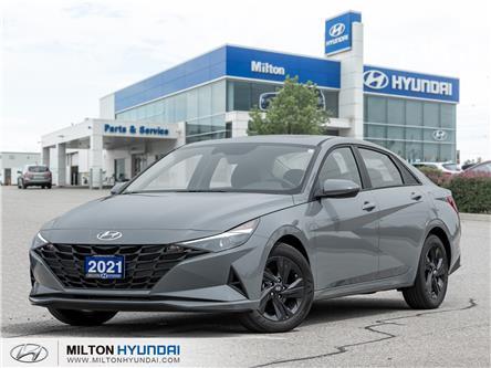 2021 Hyundai Elantra Preferred w/Sun & Tech Pkg (Stk: 141264A) in Milton - Image 1 of 20