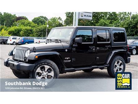 2018 Jeep Wrangler JK Unlimited Sahara (Stk: 923233) in OTTAWA - Image 1 of 20