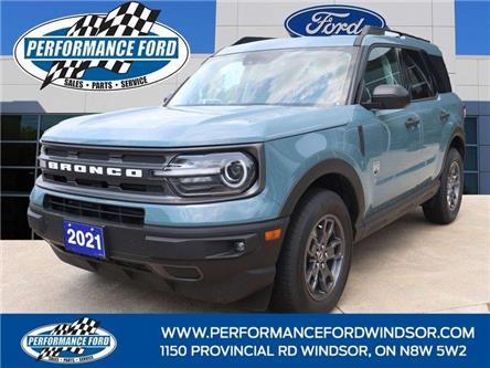 2021 Ford Bronco Sport Big Bend (Stk: BR83246) in Windsor - Image 1 of 16