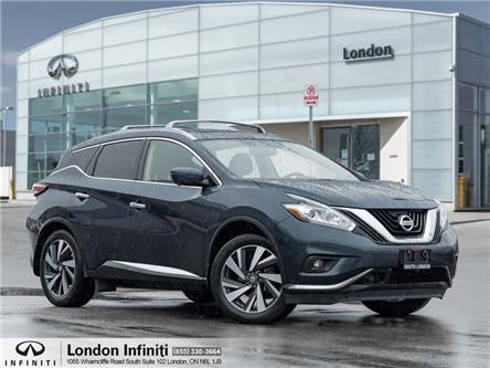 2018 Nissan Murano Platinum (Stk: H22006-1) in London - Image 1 of 24