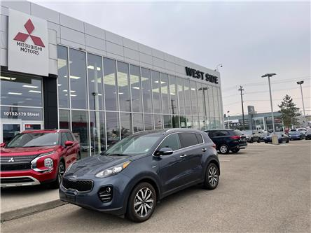 2017 Kia Sportage EX Tech (Stk: BM4049) in Edmonton - Image 1 of 15