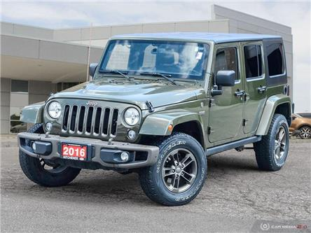 2016 Jeep Wrangler Unlimited Sahara (Stk: 22013A) in Kitchener - Image 1 of 28