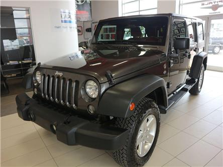 2014 Jeep Wrangler Unlimited Sport (Stk: M0118A) in Québec - Image 1 of 32