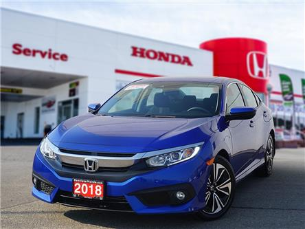 2018 Honda Civic EX-T (Stk: L21-166) in Vernon - Image 1 of 16