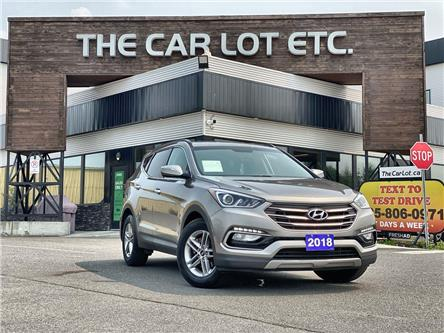 2018 Hyundai Santa Fe Sport 2.4 Premium (Stk: 21379) in Sudbury - Image 1 of 27