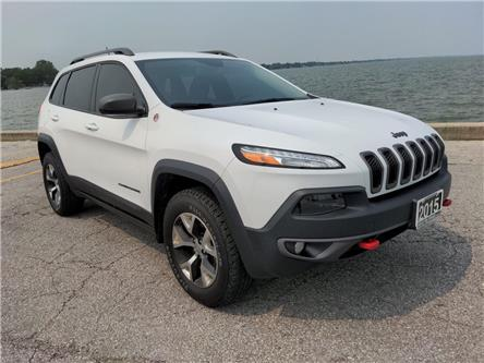 2015 Jeep Cherokee Trailhawk (Stk: D0399) in Belle River - Image 1 of 16
