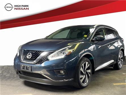 2018 Nissan Murano Platinum (Stk: U1953) in Toronto - Image 1 of 24