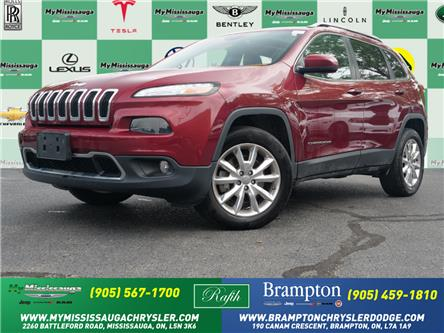 2016 Jeep Cherokee Limited (Stk: 21397B) in Mississauga - Image 1 of 25