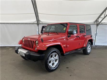 2014 Jeep Wrangler Unlimited Sahara (Stk: 191705) in AIRDRIE - Image 1 of 15