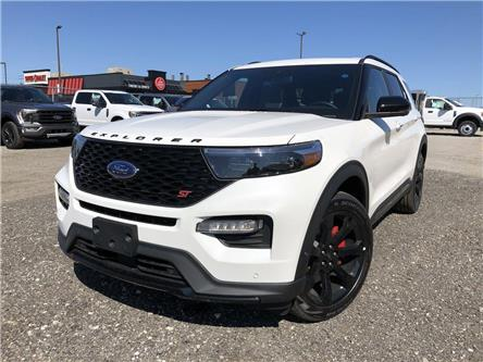 2021 Ford Explorer ST (Stk: EX21604) in Barrie - Image 1 of 27