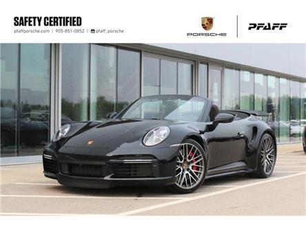 2021 Porsche 911 Turbo Cabriolet PDK (Stk: U9841) in Vaughan - Image 1 of 30