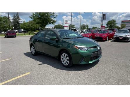 2016 Toyota Corolla LE (Stk: E8763) in Ottawa - Image 1 of 8