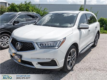2017 Acura MDX Technology Package (Stk: 504926) in Milton - Image 1 of 6