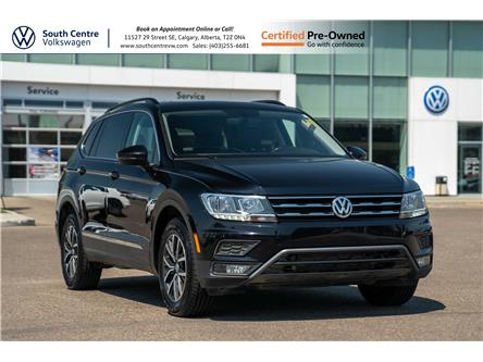 2018 Volkswagen Tiguan Comfortline (Stk: 10038A) in Calgary - Image 1 of 41