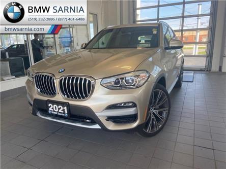 2021 BMW X3 xDrive30i (Stk: BF2135) in Sarnia - Image 1 of 15
