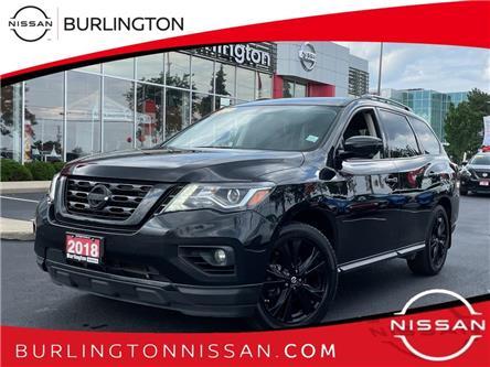 2018 Nissan Pathfinder Midnight Edition (Stk: A7276) in Burlington - Image 1 of 19