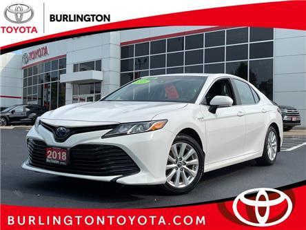 2018 Toyota Camry Hybrid LE (Stk: U11731) in Burlington - Image 1 of 16