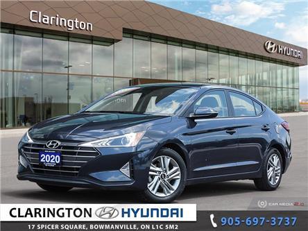 2020 Hyundai Elantra Preferred (Stk: U1244) in Clarington - Image 1 of 27
