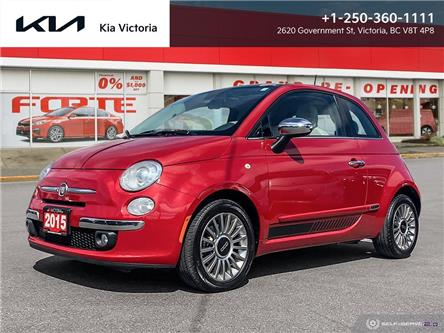 2015 Fiat 500 Lounge (Stk: A1808A) in Victoria - Image 1 of 21