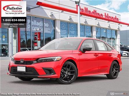 2022 Honda Civic Sedan Sport (Stk: 23376) in Greater Sudbury - Image 1 of 23