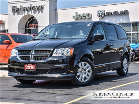2018 Dodge Grand Caravan CVP/SXT (Stk: U18746) in Burlington - Image 1 of 27