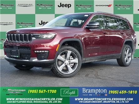 2021 Jeep Grand Cherokee L Limited (Stk: 21486) in Mississauga - Image 1 of 7