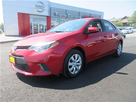 2016 Toyota Corolla  (Stk: 91950A) in Peterborough - Image 1 of 19