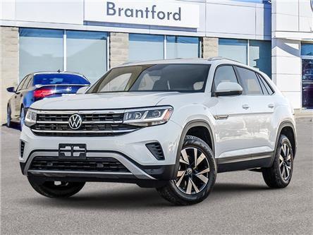 2021 Volkswagen Atlas Cross Sport 2.0 TSI Comfortline (Stk: AS21623) in Brantford - Image 1 of 23